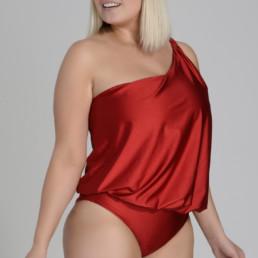 Enteriza Grace Rojo Brilloso
