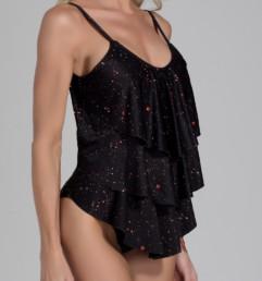 traje de baño enterizo modelo Sayulita estampada Sparky
