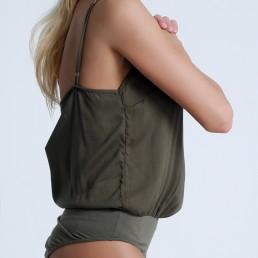 Body mujer Gimmel verde