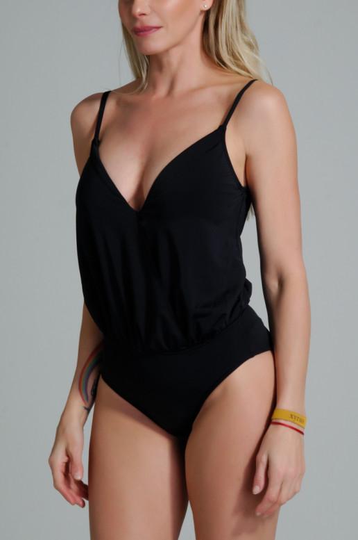 traje de baño enterizo modelo Aleph color negro