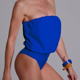 Malla enteriza Eva Azul Francia