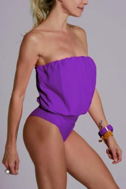 Traje de baño modelo Eva color violeta