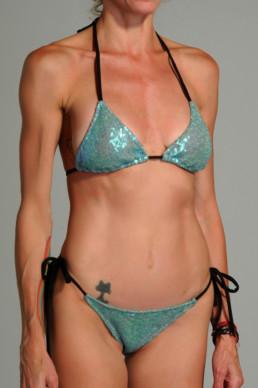 Bikini turquesa
